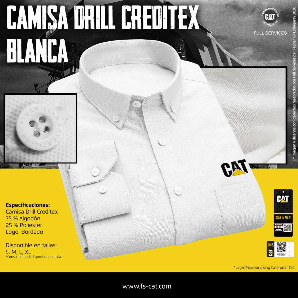 Camisa Drill Blanca